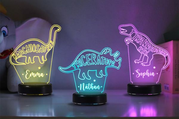 Why need to present a dinosaur night light for your kids?